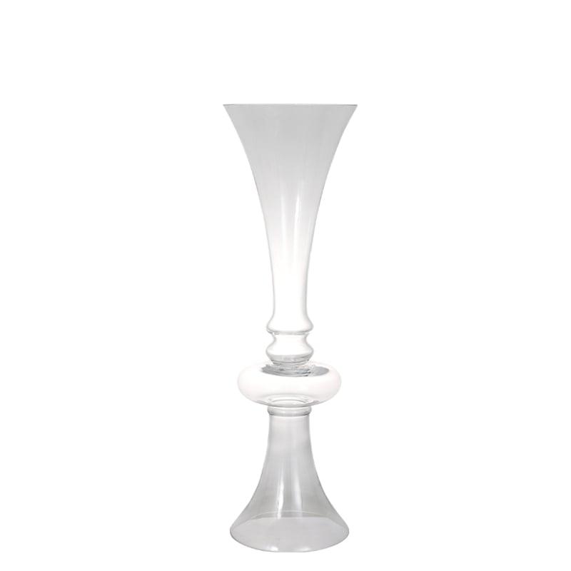 GLASS VASE AMBOS C