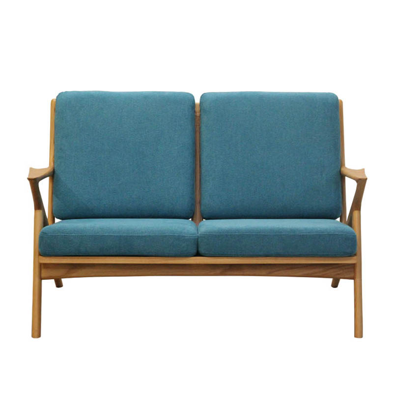 WOOD FRAME SOFA 2ST CAPRI BLUE