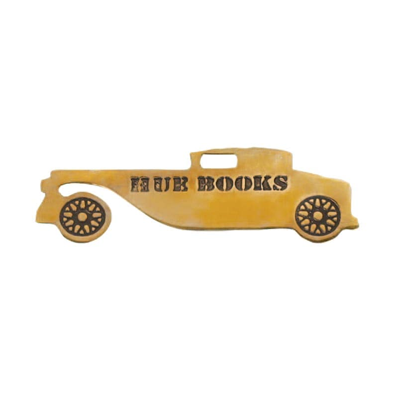 HUE BOOKS BOOK MARKER''ANTIQUE CAR''