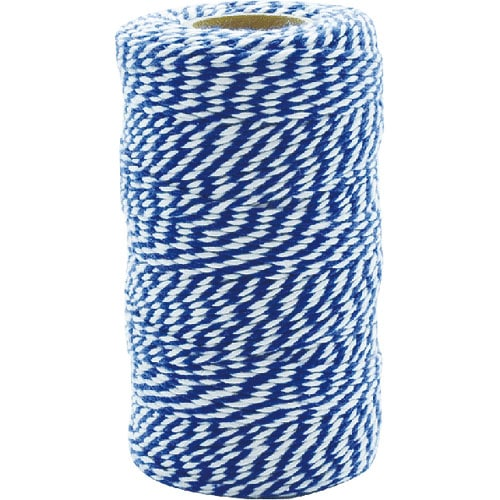 TWISTED STRING WHITE/NAVY