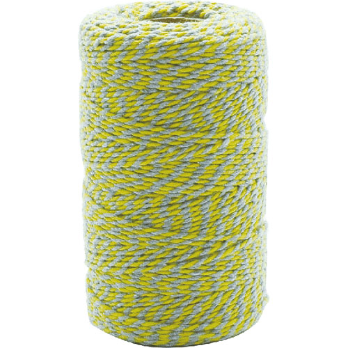 TWISTED STRING YELLOW/GRAY