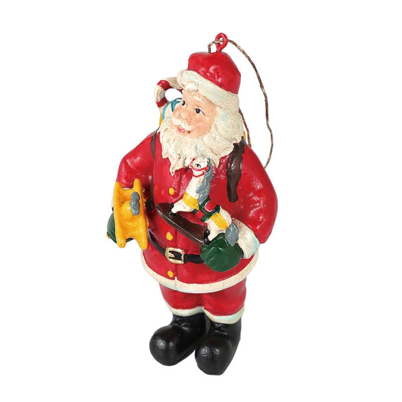 HANGER SANTA WITH AIRPLANE