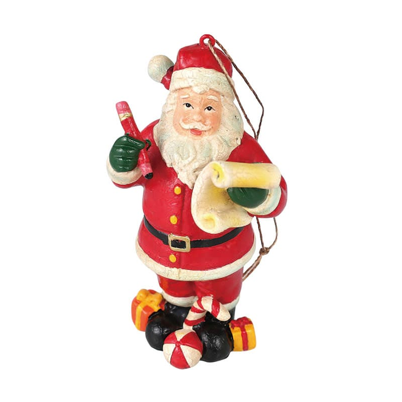 HANGER SANTA WITH LIST