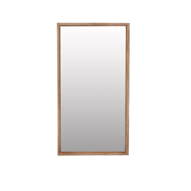 """DARCEY'' ELM BOX MIRROR"