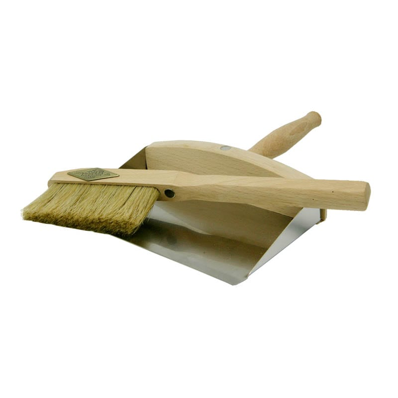 DUST BRUSH SET WITH HANDLE