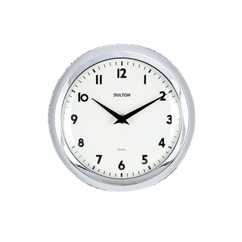 WALL CLOCK CHROME