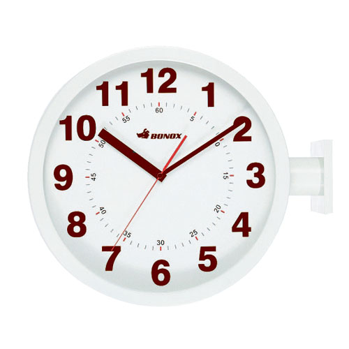 D.FACE WALL CLOCK IVORY