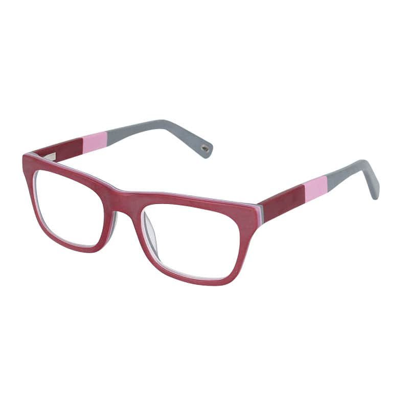 READING GLASSES BURGUNDY 3.0