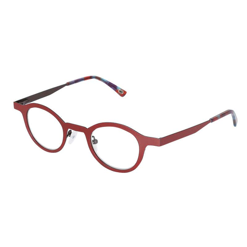 READING GLASSES RED 1.0
