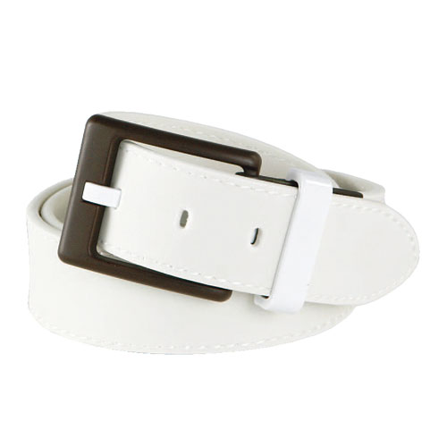 EAGER BEAVER BELT WHITE