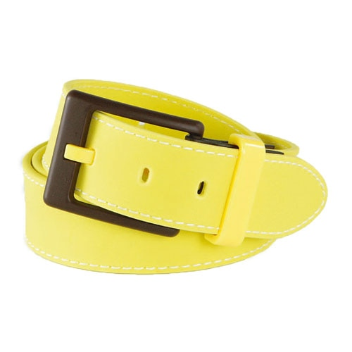 EAGER BEAVER BELT YELLOW