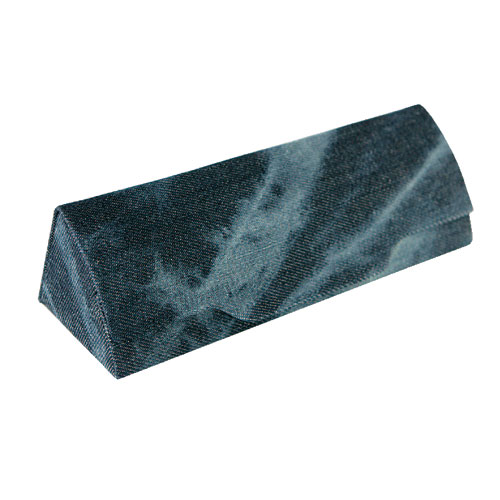 DENIM GLASSES CASE D.BL