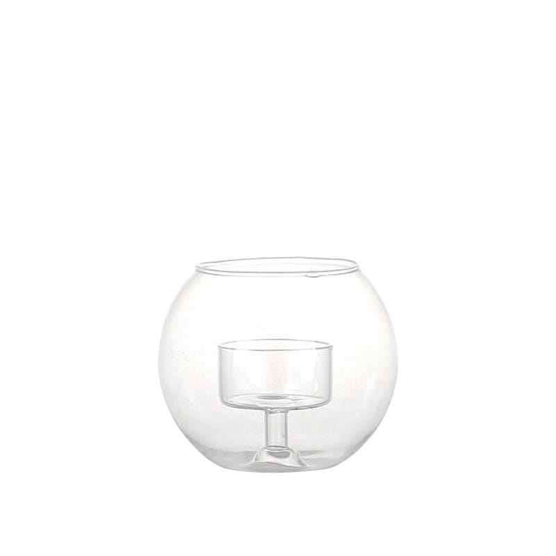CANDLE HOLDER  GLASSBALL S