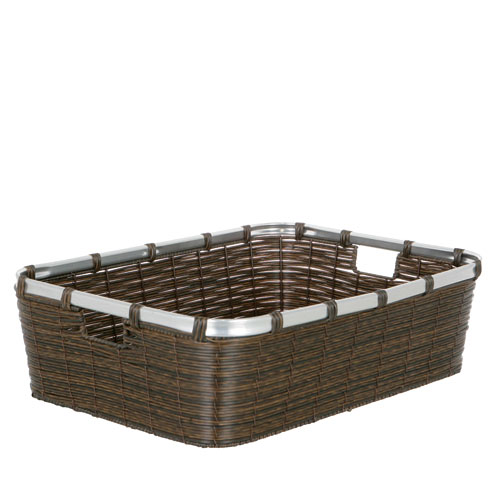 ARTIFICIAL RATTAN BASKET  XL