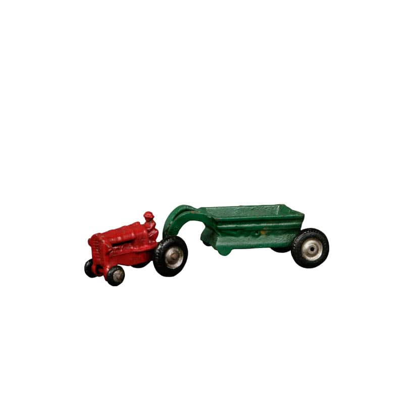 RED TRACTOR/GRN WAGON
