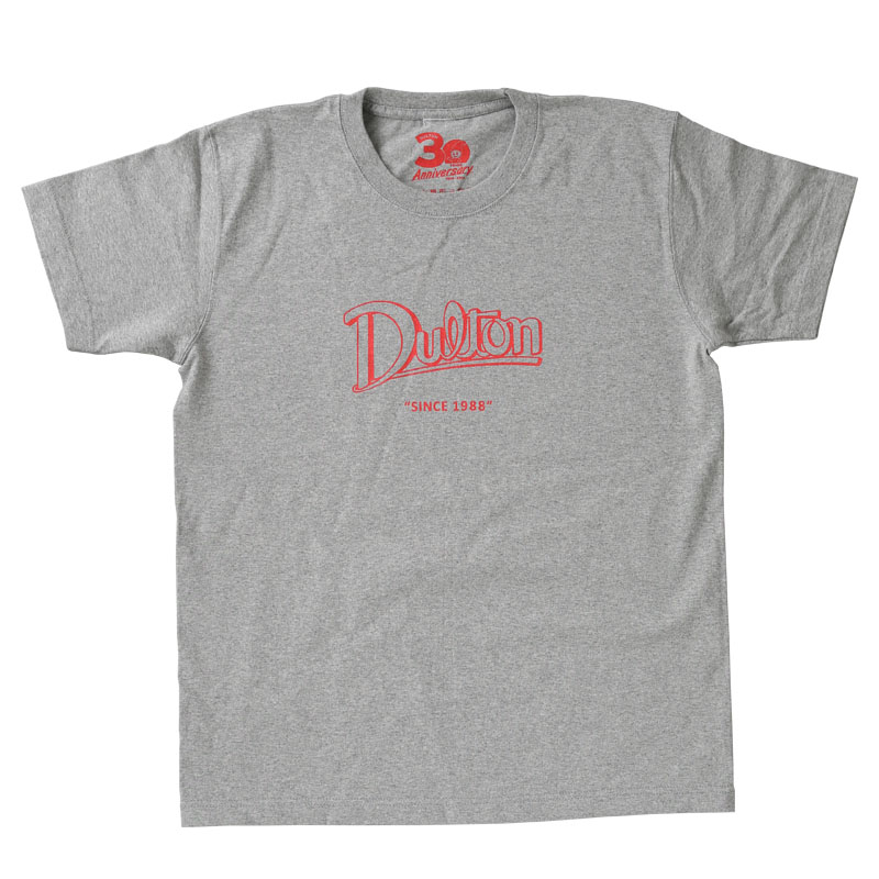 DULTON 30th-Anniversary T-SHIRTS GRAY L