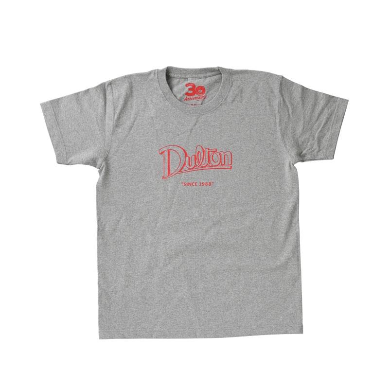 DULTON 30th-Anniversary T-SHIRTS GRAY XS