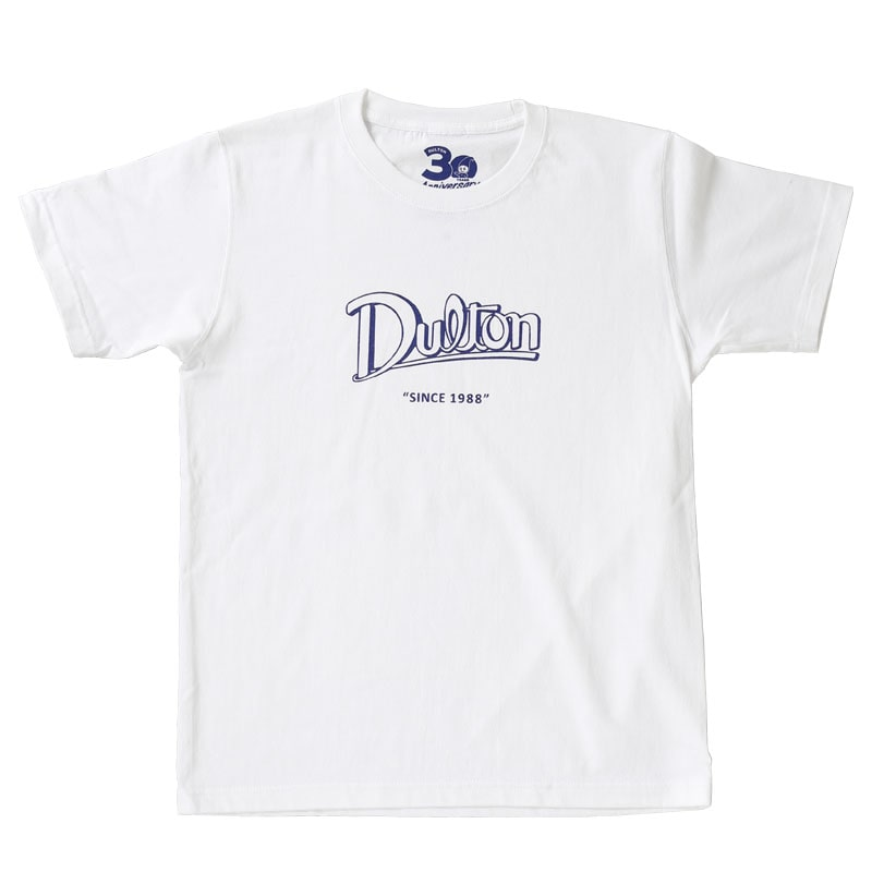 DULTON 30th-Anniversary T-SHIRTS WHITE L