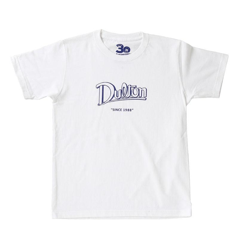 DULTON 30th-Anniversary T-SHIRTS WHITE M
