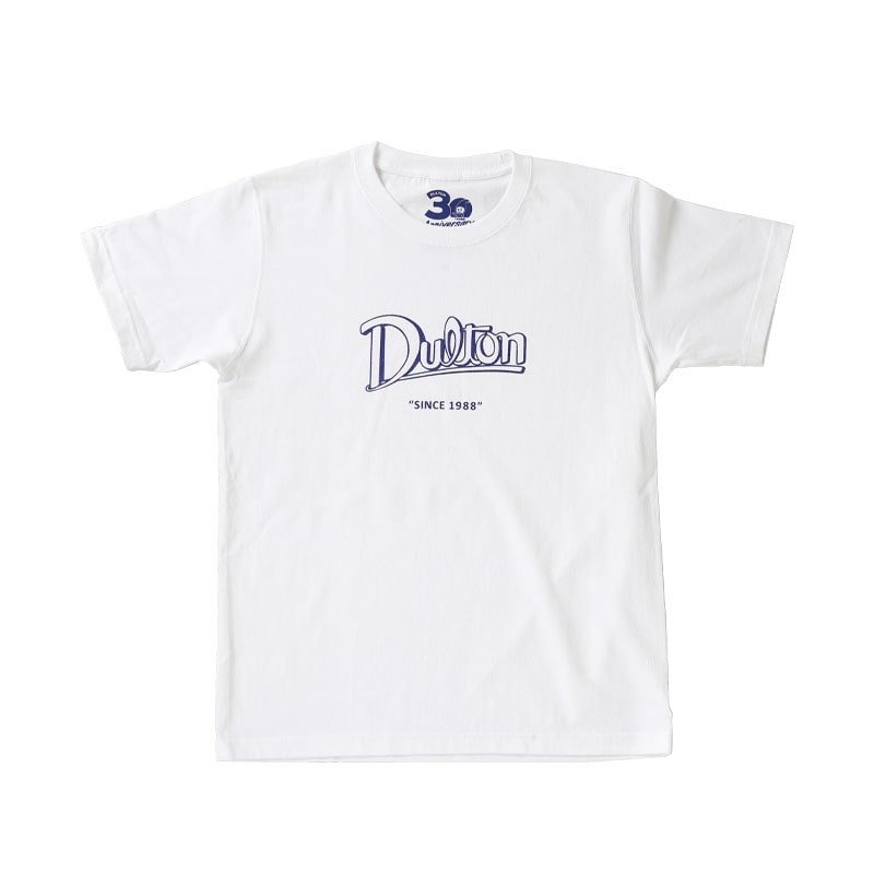 DULTON 30th-Anniversary T-SHIRTS WHITE XS