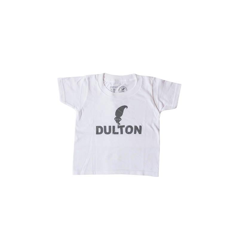 """DULTON T-SHIRTS """"SKIP"""" WT/LGY 100"""