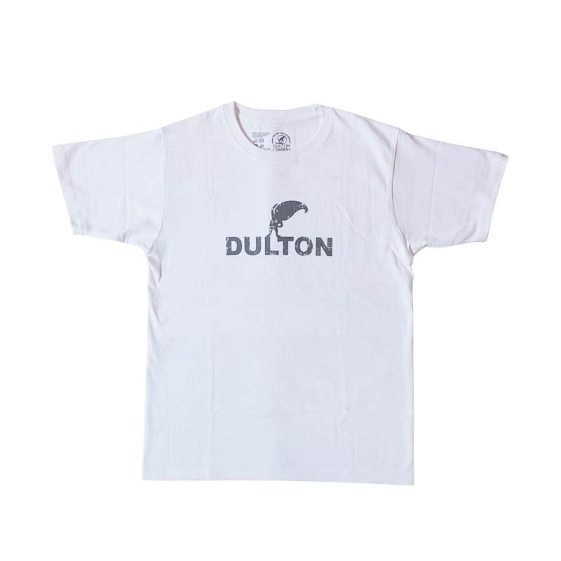 "DULTON T-SHIRTS ""WARMUP"" WT/LGY XS"