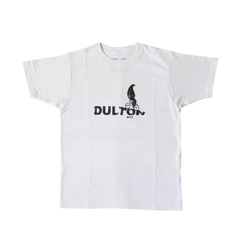"DULTON T-SHIRTS ""RIDER"" WT/GY L"