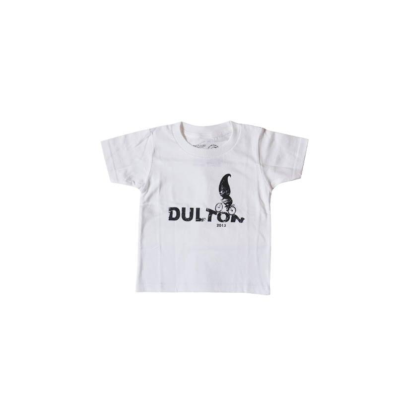 "DULTON T-SHIRTS ""RIDER"" WT/GY 100"