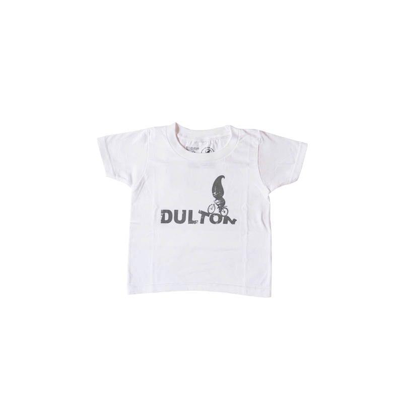 "DULTON T-SHIRTS ""RIDER"" WT/LGY 100"