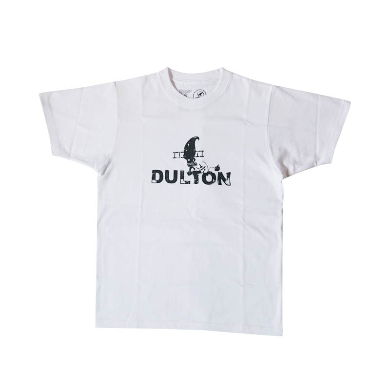 "DULTON T-SHIRTS ""WORKER"" WT/GY M"