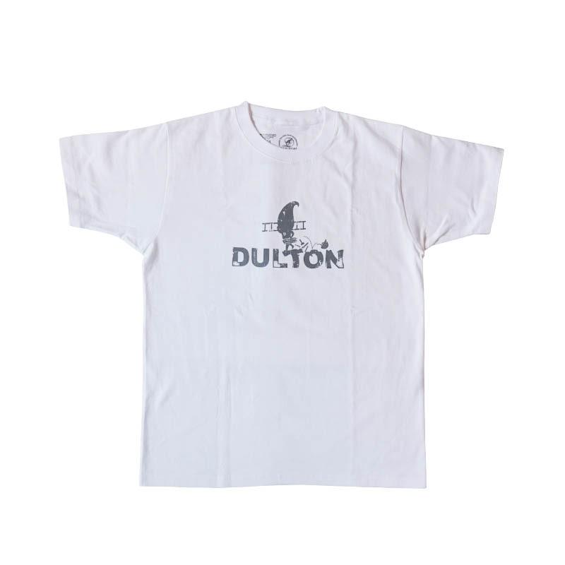 "DULTON T-SHIRTS ""WORKER"" WT/LGY XS"