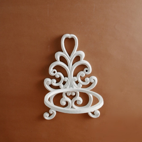 FLOWER POT HOLDER IVORY