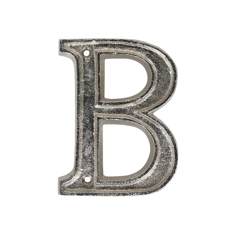"METAL LETTER 105 SILVER ""B"""