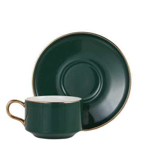 CUP & SAUCER Numelo 1 GRN