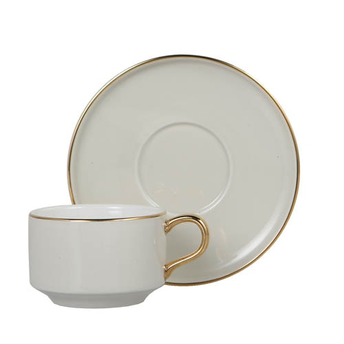 CUP & SAUCER Numelo 1 IVR