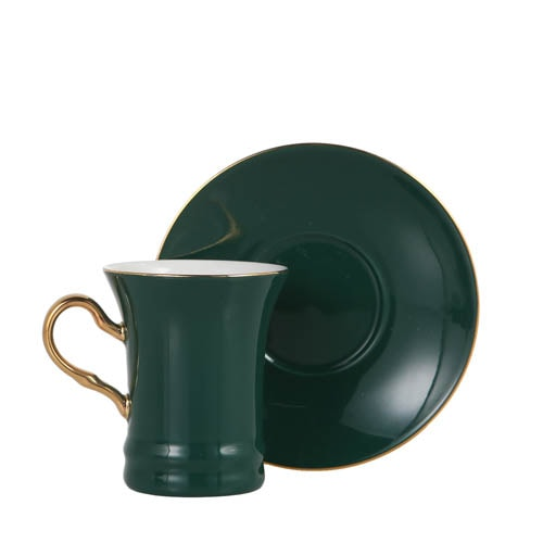 CUP & SAUCER Numelo 2 GRN
