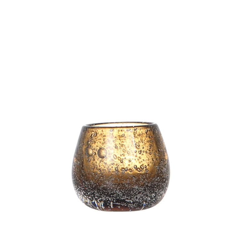 BOCCEA CANDLE HOLDER AMBER