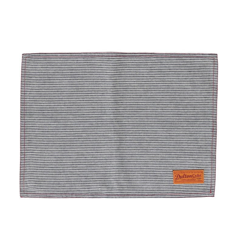 PLACE MAT HICKORY STRIPE
