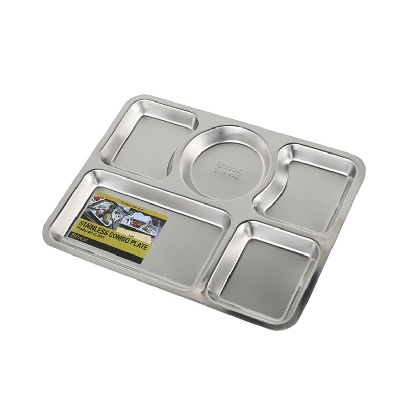 STAINLESS COMBO PLATE C