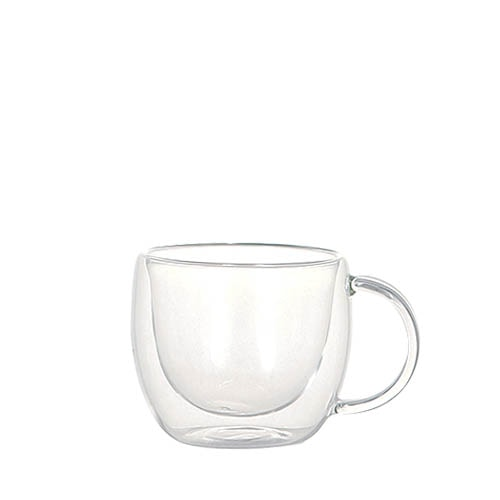DOUBLE WALL GLASS CUP LUNGO