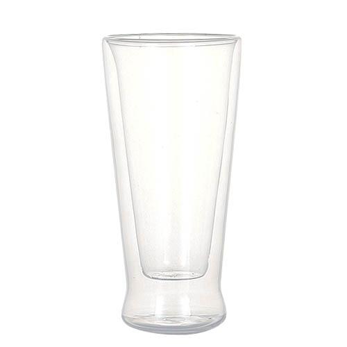 DOUBLE WALL GLASS TUMBLER 320ml