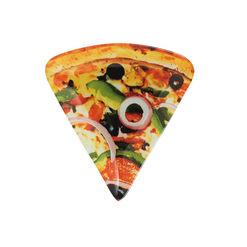 GLASS FARMER PLATE PIZZA