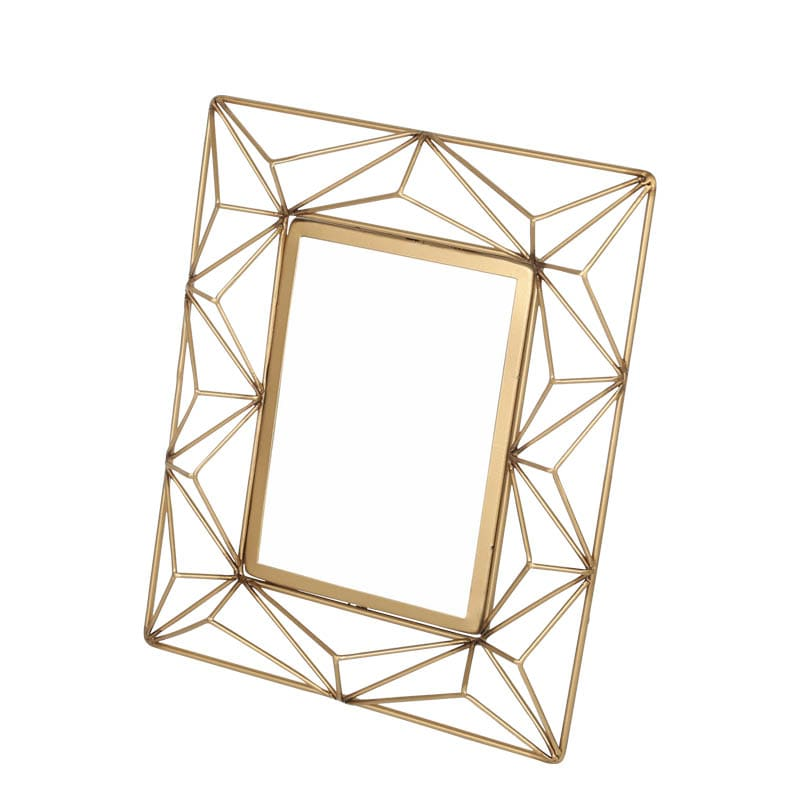 WIRE PHOTO FRAME A GOLD L