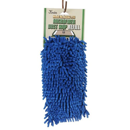 MICROFIBER DUST MOP REFILL  BLUE