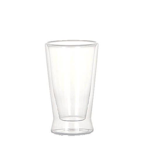 DOUBLE WALL GLASS TUMBLER 180ml