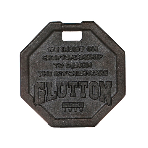 GLUTTON OCTAGON TRIVET