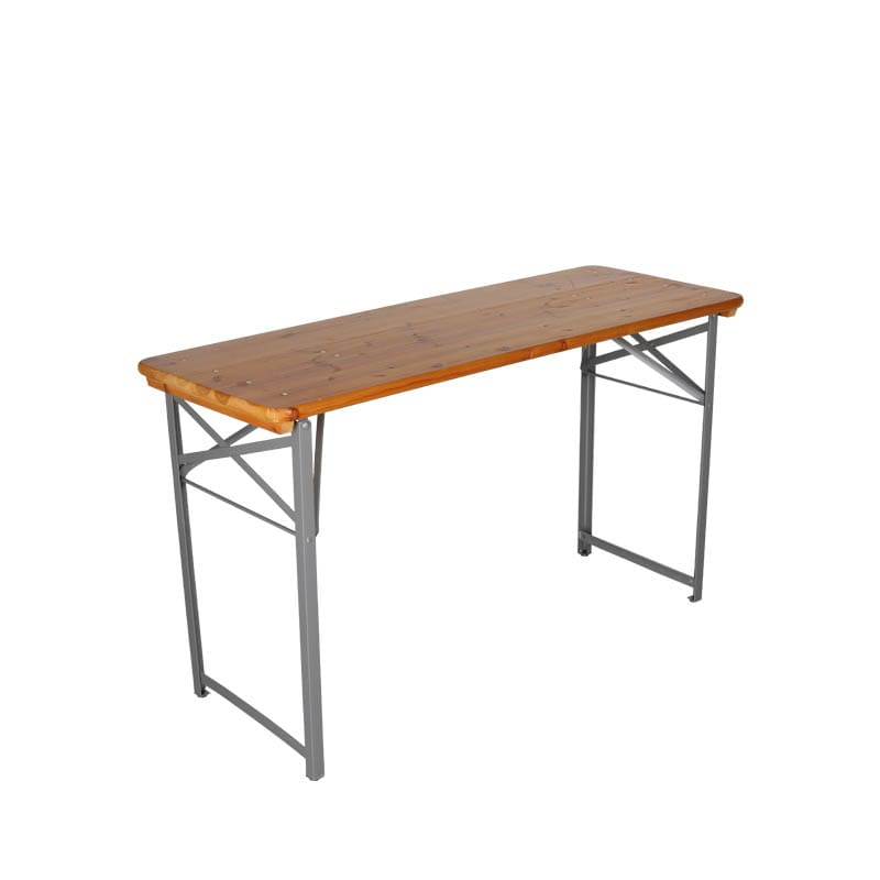 BEER TABLE 130 SILVER