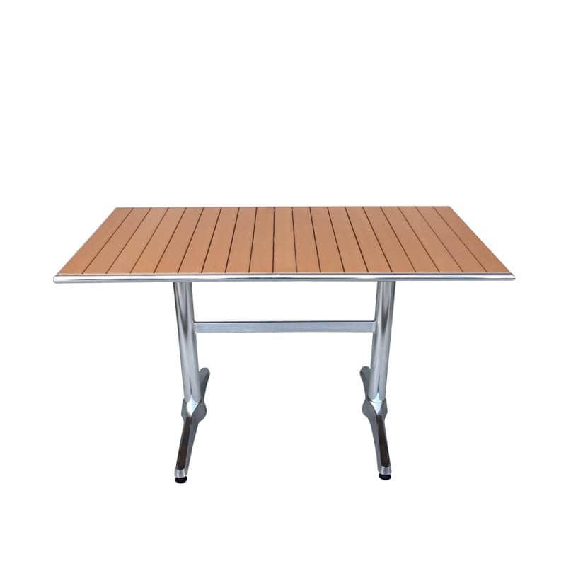 ALUMINUM RECTANGLE TABLE LBR