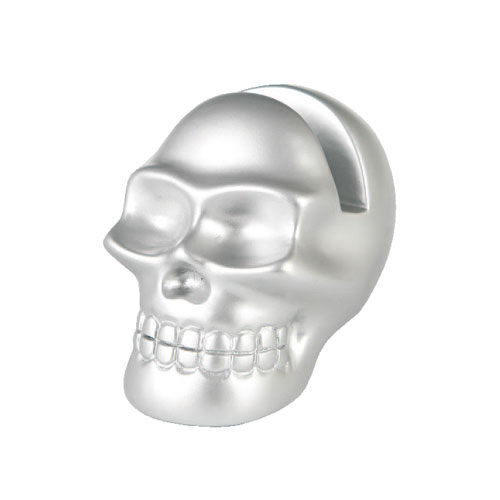 SKULL GLASSES HOLDER SLV