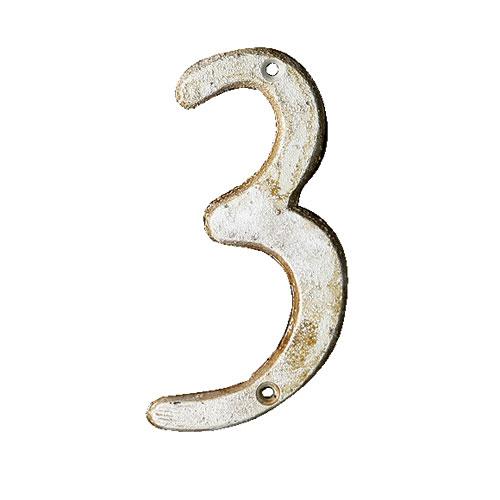 IRON NUMBER 3  IVORY